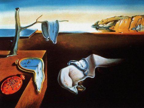 La persistenza della memoria - Dalì