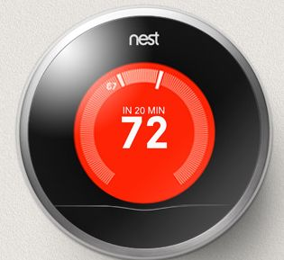 Il termostato intelligente di Nest