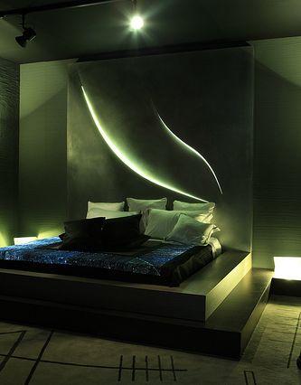 Una delle possibili applicazioni di Domotika - lighting design