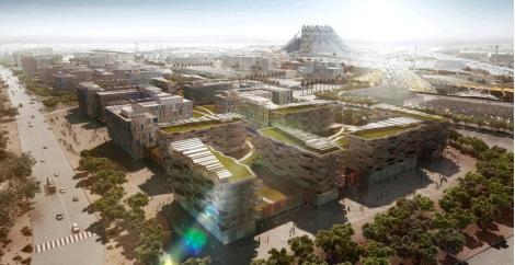 Dubai Expo 2020 - Masterplan 3D Rendering