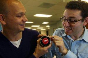 Matt Rogers - co-fondatore di Nest Labs (a destra)