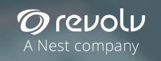 Il nuovo logo di Revolv dopo la recente acquisizione.