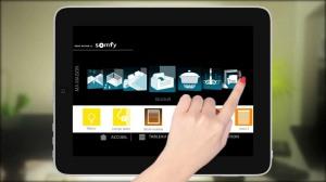 Somfy TaHoma - un esempio della dashboard integrata