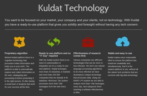 Una infografica interessante sulla tecnologia di Kuldat