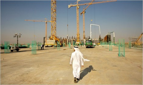 saudi construction site