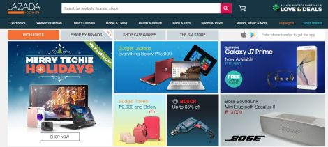 lazada-home-page